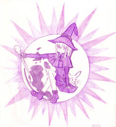 365MD(V3) - Moon Witch(Huevember) by 453679