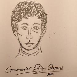 Commander Eliza Shepard by holmesian1891