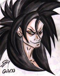 SS4 Goku by Fijeta
