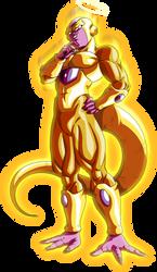 Golden Frieza Aura by LordKizashi