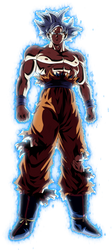 Ultra Instinct Goku Aura by LordKizashi