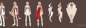 LIGHTNING RETURNS: Final Fantasy XIII - CustomGARB by JeanneCrescent