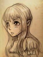 Elf Princess (Manga Style) by Spencey