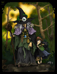 The Witch and the Orphan - Colored by Kradath