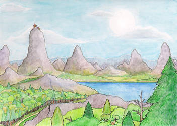 Landscape by Kradath