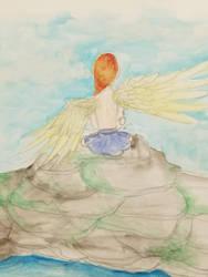 angel by NikaGhost