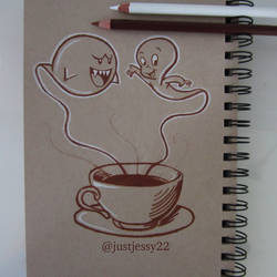 Ghosts in my Coffee by jessyG22