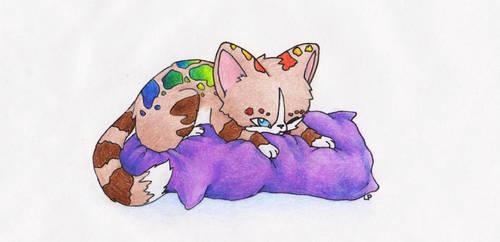 Sleepy... by lllLonelyWandererlll