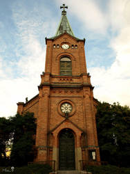Jyvaskyla's Church #2 by MissTanuki
