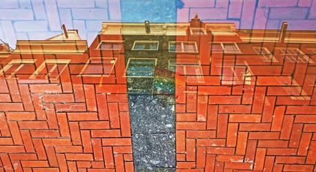 Facade's reflection by MissTanuki