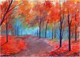 Autumn forest by kosharik69