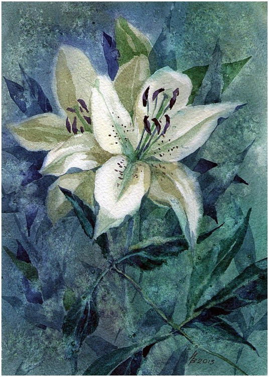 madonna lily by kosharik69