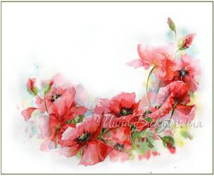 Poppy wreath by kosharik69