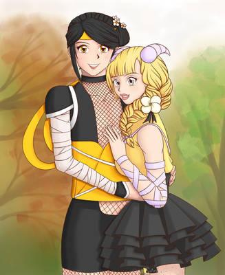 GO: Orville Bearclaw Birthday Couple by Lunar-Priestess-Yuri