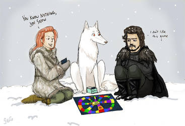 You Know Nothing by K1D6R4Y