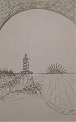 A Lighthouse! by Decomposeart
