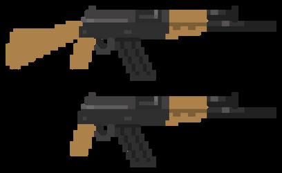 AK-47 by kaiakai