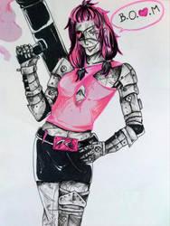 10 - Pink-tober by Edelia-Rebeis