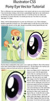 Illustrator Pony Eye Vector Tutorial by SirCxyrtyx