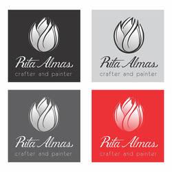 Logo Rita Almas versiones by RitaAlmas