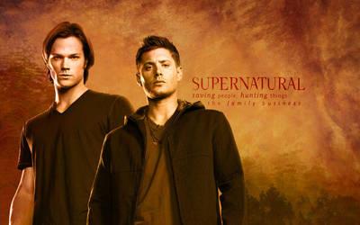 Supernatural Deskop by BlueFire986