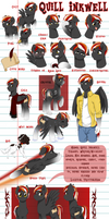 Quill Inkwell Official Reference sheet by Art-forArts-Sake