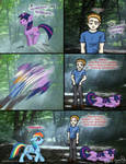 Twilight vs My Little Pony by OdieFarber