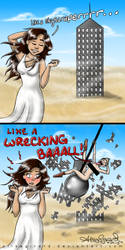 Miley Cyrus vs. Demi Lovato : Like A... by OdieFarber