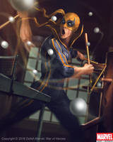 Iron Fist Evo2 by Denstarsk8