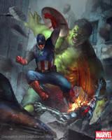 Hulk Captain America Evo 1 by Denstarsk8