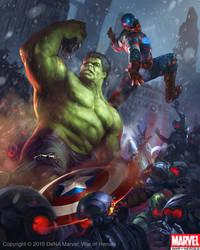 Hulk Captain America Evo 2 by Denstarsk8