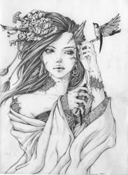 Bird Lady by Doringota