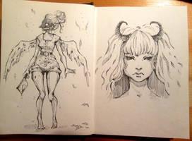 Sketchbook: 17.02 by Doringota