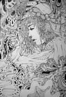 Oasis- lineart by Doringota
