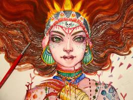 WIP 2: Mother by Doringota