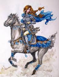 Knight 2 by Doringota