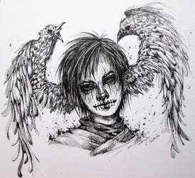 Inktober (Devil17/31) by Doringota