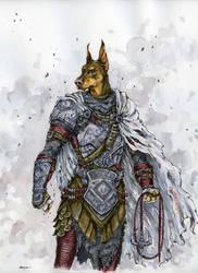 Dog Knight by Doringota