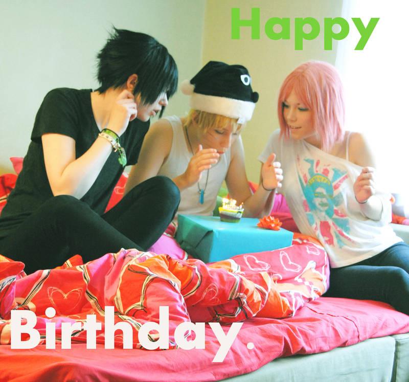 Happy birthday Naruto. by Figgarow