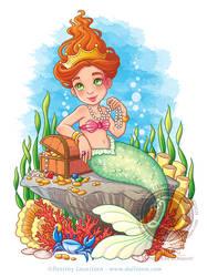 Mermaid's Treasure by Dalliann