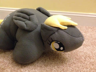 Derpy Pillow pet by titanstargirl
