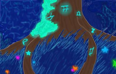 Magic night by Jolie-plume
