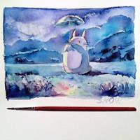 Totoro :) by snowmarite