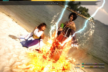 Yuna and Lulu: Ultima Fury by SakuMiyuku