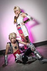 Vaan and Ashe by SakuMiyuku