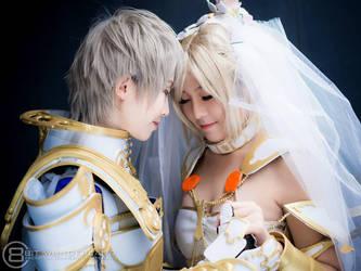 Rasler and Ashe : Wedding by SakuMiyuku