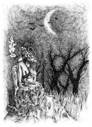 Midnight magic by EvilEggy