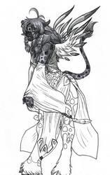Tauren Priest by Meegz0