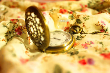 Vintage Clock by CyanicOrange