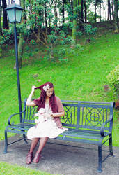 Mori Girl 3 by CyanicOrange